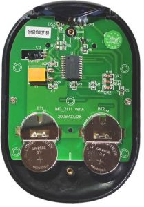Batteries Removed from Delphi Stereo Remote